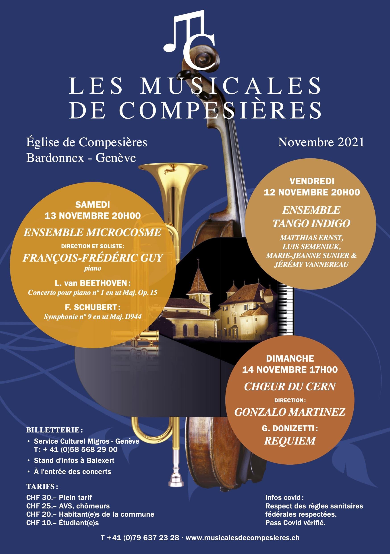 Concerts Genève Saison 2021 / 2022